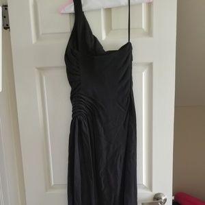 Full length black Armani dress